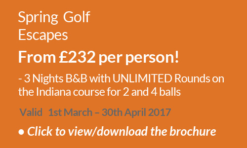 Spring Golf Escapes