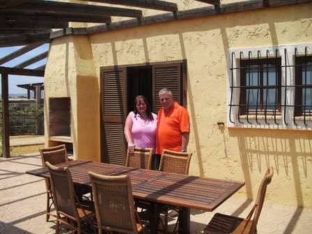Daryl and Jenny Kirby, new owners of 10 Desert Gold at Desert Springs Resort and Desert Golf Course