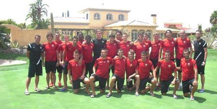 UD Almer?a Team 2012 Pre-Season Training Camp at Desert Springs Football Academy