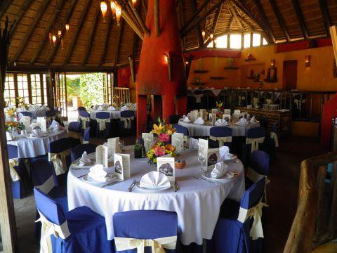 The Crocodile Club Restaurant prepared for the Communion Celebration