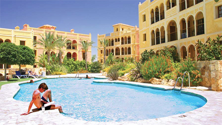 Apartments at Las Sierras used for accommodating Almeria Football Club
