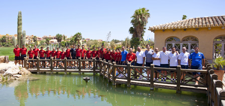 UD Almeria B Team 2013 Pre-season Training Camp at Desert Springs Football Academy