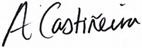Alfonso Casti?eira signature