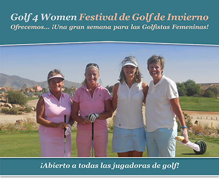 Golf 4 Women Festival de Golf de Invierno
