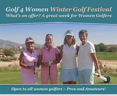 Golf 4 Women Winter Golf Festival