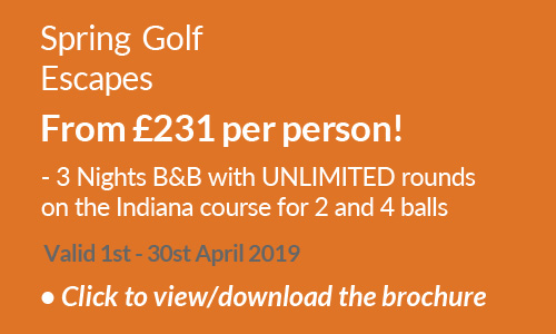 Spring Golf Escapes 2019