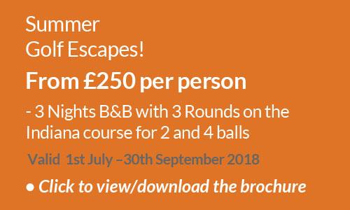 Summer Golf Escapes 2018