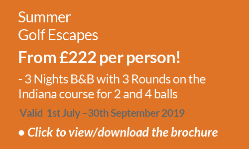 Summer Golf Escapes 2019