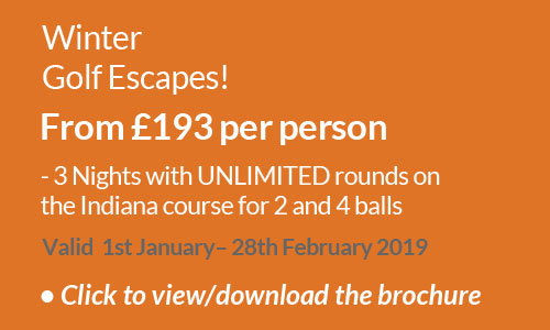 Winter Golf Escapes 2018