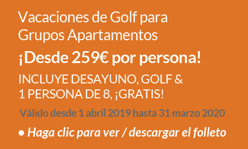Luxury Apartment Group Golf Holiday Offer