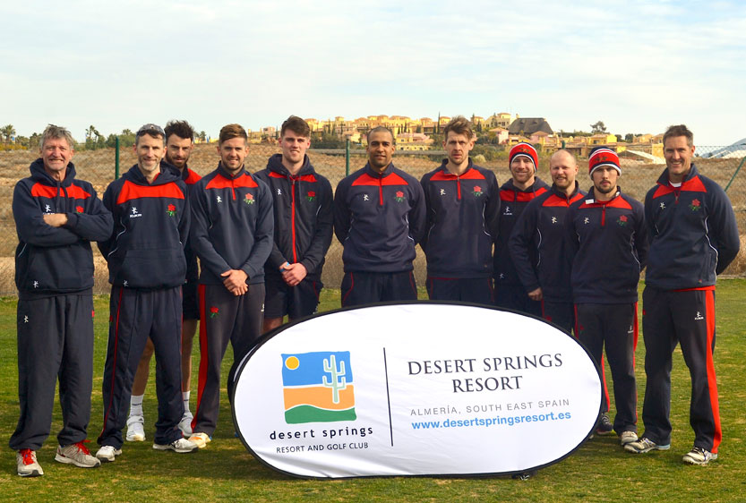 f8d43f575cc Lancashire CCC Pre-Season Winter Training Camp at Desert Springs Cricket  Academy
