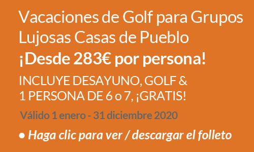 Luxury Pueblo Villa Group Golf Holiday Offer