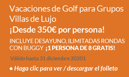 Luxury Country Villa Group Golf Holiday Offer