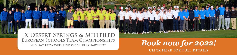 IX Desert-Springs Resort & Millfield Banner 2021