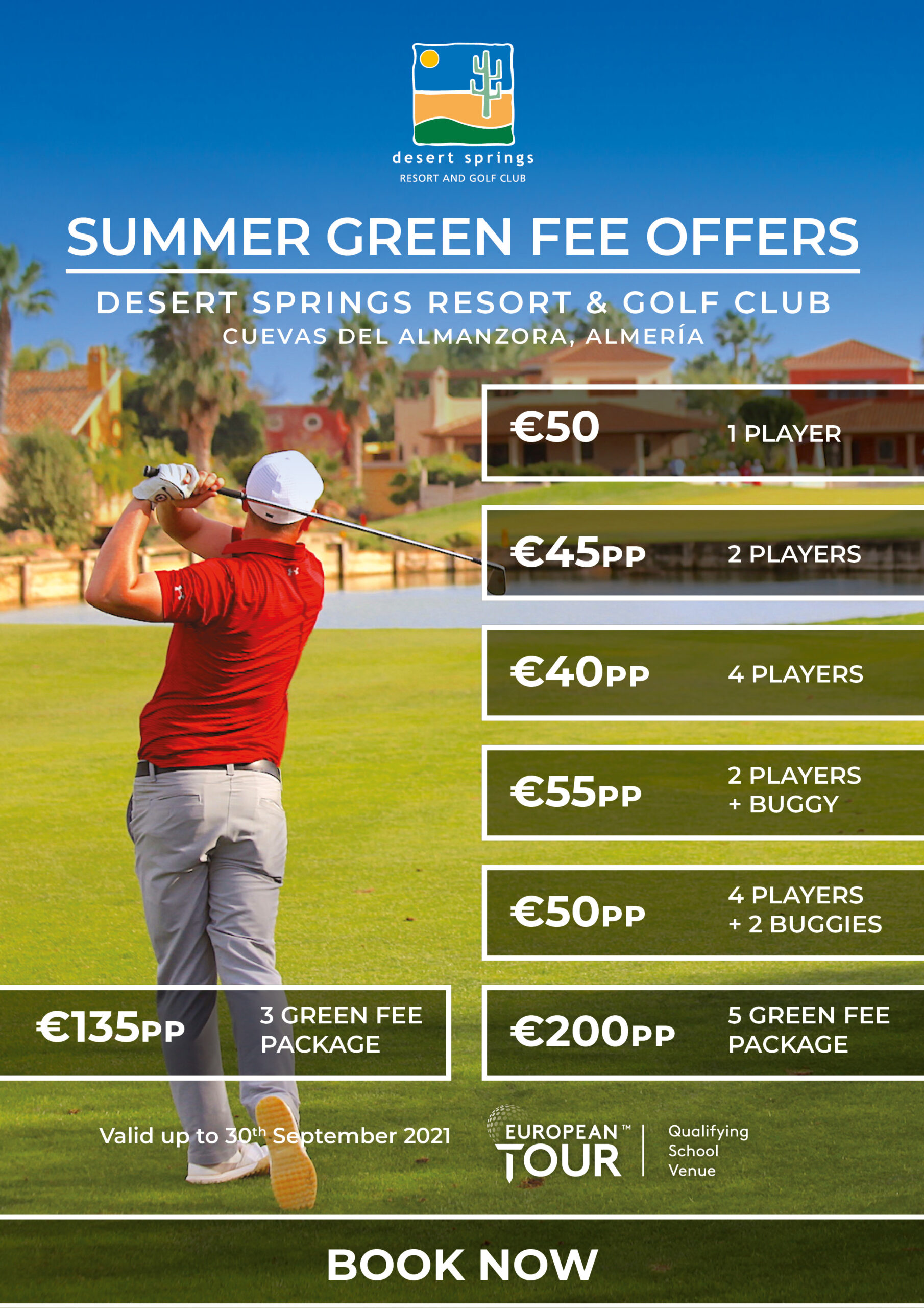 desert springs golf offer summer 2020